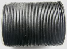 Schwarze Gewachst Lederband Drähte, Fäden & Bänder zur Schmuckherstellung
