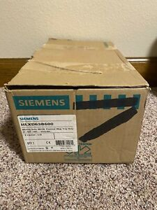 NEW Siemens HLXD63B600 3p 600v 600a Sentron Circuit Breaker NEW IN BOX SURPLUS
