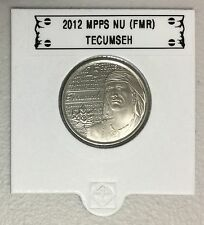 CANADA 2012 New 25 cents Tecumseh (BU directly from mint roll)