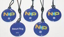 5 NFC smart tags avec NXP ntag 203 CHIP-Bleu-pour tous les périphériques NFC!!!