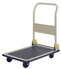 PRESTAR NB101 Flatbed Platform Trolley 150 Kg Folding Handle 5 Year Warranty