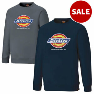Dickies Longton Mens Sweatshirt Work Jumper Sweater DT3010 * SALE * RRP £45