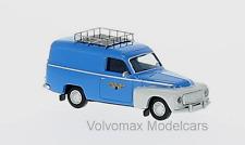 "wonderful  HO-modelcar VOLVO P210 DUETT PANELVAN ""NSB"" (NORWAY) 1962 - 1/87"
