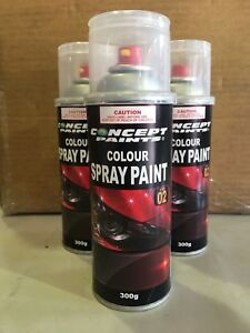 Concept Paints Touch Up Paint in Aerosol. Any Land Rover Basecoat Colour Code.