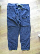 Rare Deadstock Vintage Royal Navy Ventile Windproof Trousers. Size 3.