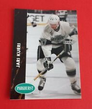 1991/92 Parkhurst Hockey Jari Kurri Card #72***Los Angeles Kings***