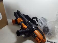Worx Wg509 Trivac 12 Amp 3-In-1 Electric Blower/Mulcher/Vacuum