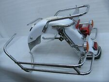 new take-off harley davidson rear fender touring 2008 ultra classic white  gold