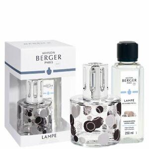 Lampe Berger Paris Geschenkset Pure Organique inkl. Duft Cotton / Baumwollblüte