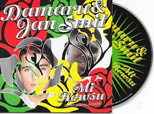 DAMARU & JAN SMIT - Mi Rowsu (Tuintje In Mijn Hart) CD SINGLE 2TR Dutch Cardslv