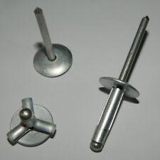 10 Halb Rundkopf 6x50 mm Vollnieten Aluminium Nieten 6 x 50 Halb Rundnieten Alu
