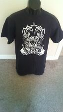 Aghori Band Black T-Shirt - Size Large - Doom Metal Band from Oregon - Rare