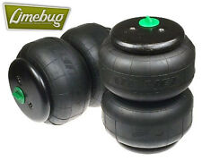 """Dual Twin Bellow Air Bags D2500 Dominator Single Port 1/2"""" VW Airbag System"""