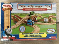 Thomas and Friends wooden railway Transforming Track Bridge
