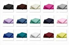 New Flat Sheet Bed Sheets Poly Cotton Percale Single Double King Super King Size