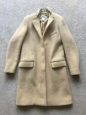 CHLOE (Phoebe Philo) Camel Wool Silk Coat - FR 38 (UK 10, AU 10, US 8) AS NEW