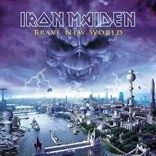 IRON MAIDEN BRAVE NEW WORLD DOPPIO VINILE LP 180 GRAMMI NUOVO