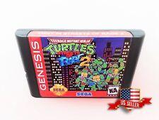 TMNT in Streets of Rage 2  Teenage Mutant Ninja Turtles Sega Genesis Custom Hack