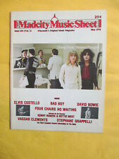 May 1978 Madcity Music Sheet Wisconsin Music Magazine Cheap Trick Cover