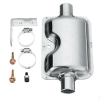 NEW Can-SB 50mm Exhaust Silencer from Blue Bottle Marine