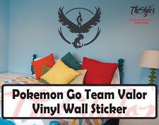 Pokemon Go Team Valor Wall Vinyl Sticker
