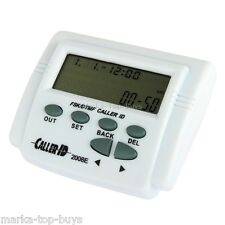 2.7 Inch LCD adjustable Screen FSK/DTMF caller ID with Calendar function