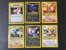 Pokemon cards Neo Genesis non holo Rare lot NM - LP