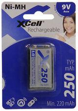 1 pezzo Xcell batteria 9V-Block 250mAh/8,4V 118101