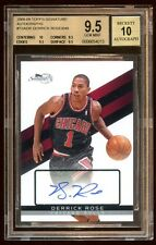 BGS 9.5 10 DERRICK ROSE 2008 TOPPS RC AUTO SP /649  BULLS SUPERSTAR TRUE RC AUTO