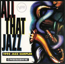 1996 Verve Jazz Sampler ~ All That Jazz ~ CD