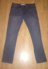 Mens Grey Size 34 Length 34 New Look Skinny Jeans