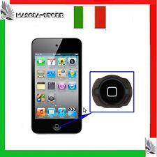 TASTO Nero Bottone HOME per IPOD TOUCH 4 Generazione  APPLE Ricambio Pulsante