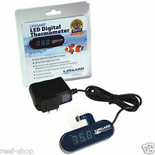 Lifegard Aquatics LED Digital Submersible Aquarium Thermometer FREE USA SHIPPING