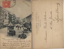 Tarjeta Postal. CADIZ. Calle de Isacc Peral. Nº 853 - 1ª edición.