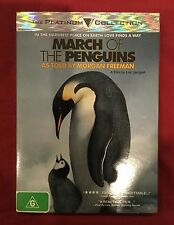 March Of The Penguins (DVD, 2006) as told by Morgan Freeman