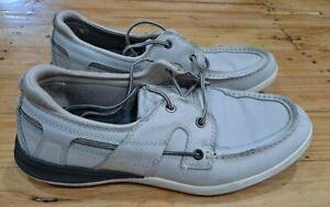 Mens Airflex Leather Shoes Size UK 9 AU 10