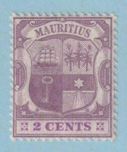 MAURITIUS 129  MINT NEVER HINGED OG ** NO FAULTS EXTRA FINE !