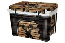 Thickest & Tuffest Full Wrap for Yeti 45qt Tundra Cooler 24mils Buck Crosshairs