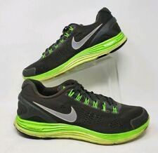 Nike LunarGlide 4 OG SQ/RFLCT SLVER-ELCTRC GRN 531986-303 US Size 12
