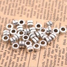 50/100Pcs Tibetan Silver Charms Spacer Beads Jewelry Findings 4.5x5MM 3140