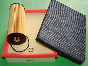 kl. Filterset Filtersatz Inspektionspaket Skoda Superb (3U) 2.5 V6 TDI