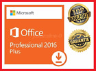 Microsoft Office 2016 Professional Plus, 64&32Bit ✔ MS® Office ✔ PRO VOLLVERSION