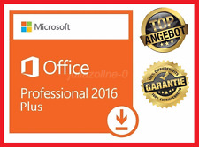 Microsoft Office 2016 Professional Plus, 64&32Bit ✔ MS® Office ✔ PRO VOLLVERSION