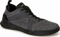 Lacoste Men's LT Dual Elite 318 SPM Black Sneakers Shoes Casual Walking Croc