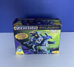 ZOIDS Gun Sniper Action Figure Model Kit Hasbro Vintage 2001 Complete