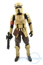 "Star Wars Black 6"" Inch Walmart Scarif Stormtrooper Rogue One Loose Complete"