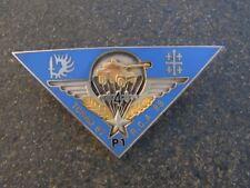 INSIGNE  militaire   1 er reg de hussard  parachutiste  tchad   87    ref 8
