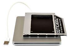 """Opticaddy SATA-3 HDD/SSD Caddy KIT für Apple Unibody Macbook Pro 13"""" 15"""" 17"""""""