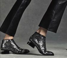 Alexander Wang Kori Studded Ankle Boots 36.5 7