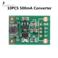 [10PCS] DC-DC Boost Converter Step Up Module 1-5V to 5V 500mA 600mA for Arduino